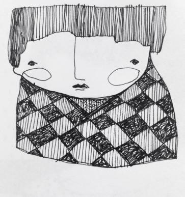 Nene con pullover