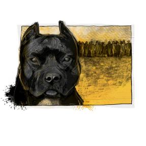 El perro del mal
