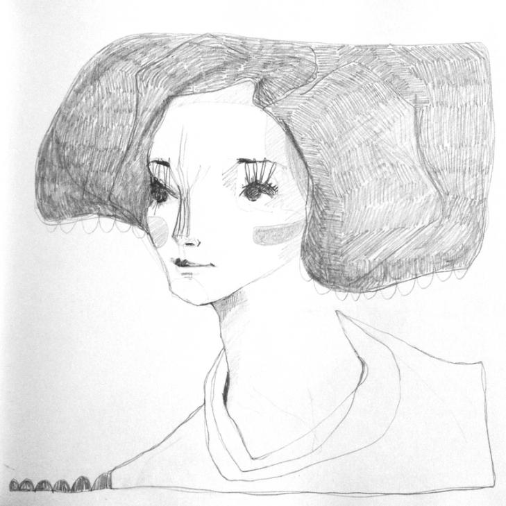 Mujer de gris III