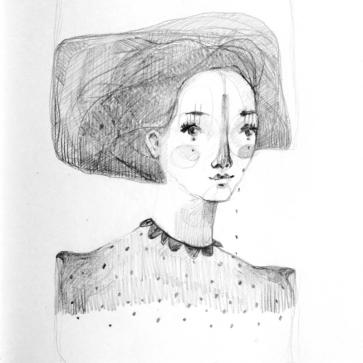 Mujer de gris