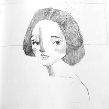 Mujer de gris II