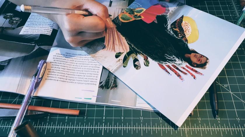 Ilustración y collage
